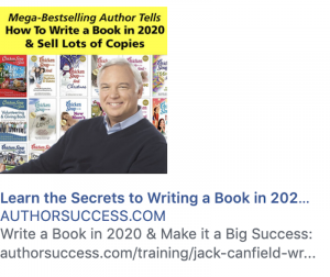Showing offers for sale in the margins of Facebook will create distractions during your training.